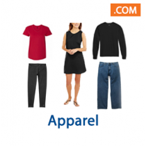 Apparel, 4 Pallet Spaces, Retail $23,017, Johnstown, NY, 500 Miles Free Shipping