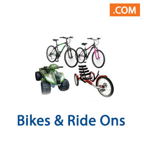 Bikes and Ride Ons, 1 Truckload (12 Pallet Spaces), Retail $13,032, Taylors, SC, 500 Miles Free Shipping