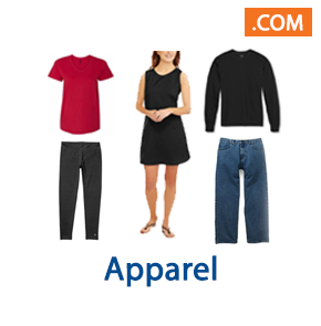 4 Pallet Spaces of Apparel, Ext. Retail $16,555, Johnstown, NY, 300 Miles Free Shipping
