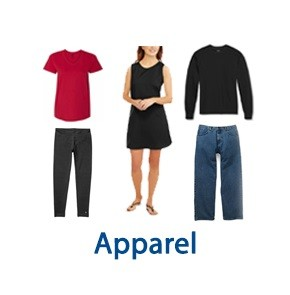 2 Pallet Spaces of UNMANIFESTED Apparel, Taylors, SC, 300 Miles Free Shipping