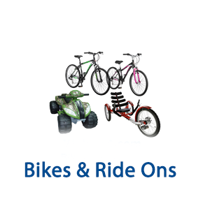1 Pallet Space of UNMANIFESTED Bikes & Ride Ons, Taylors, SC, 300 Miles Free Shipping