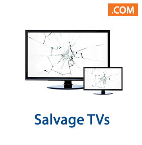 10 Pallet Spaces of Salvage TVs, Ext. Retail $32,824, Indianapolis, IN, 300 Miles Free Shipping