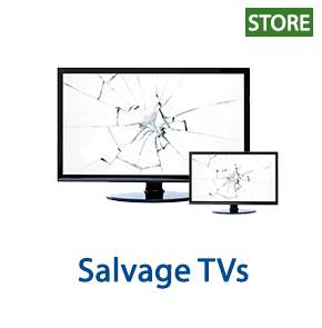 Salvage TVs, 1 Truckload, Retail $64,081, Johnstown, NY, 500 Miles Free Shipping